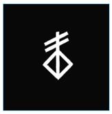 לוגו שחור לבן